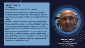 Jeremy D QC