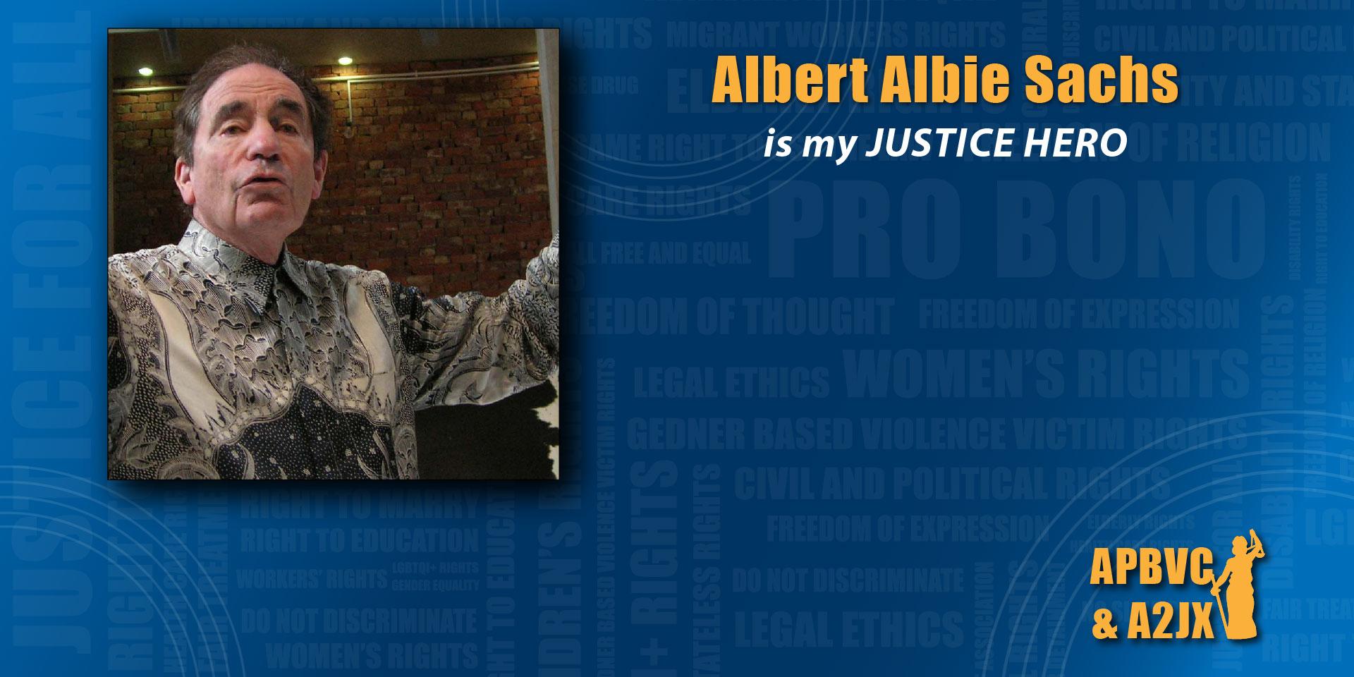 Albert Albie Sachs