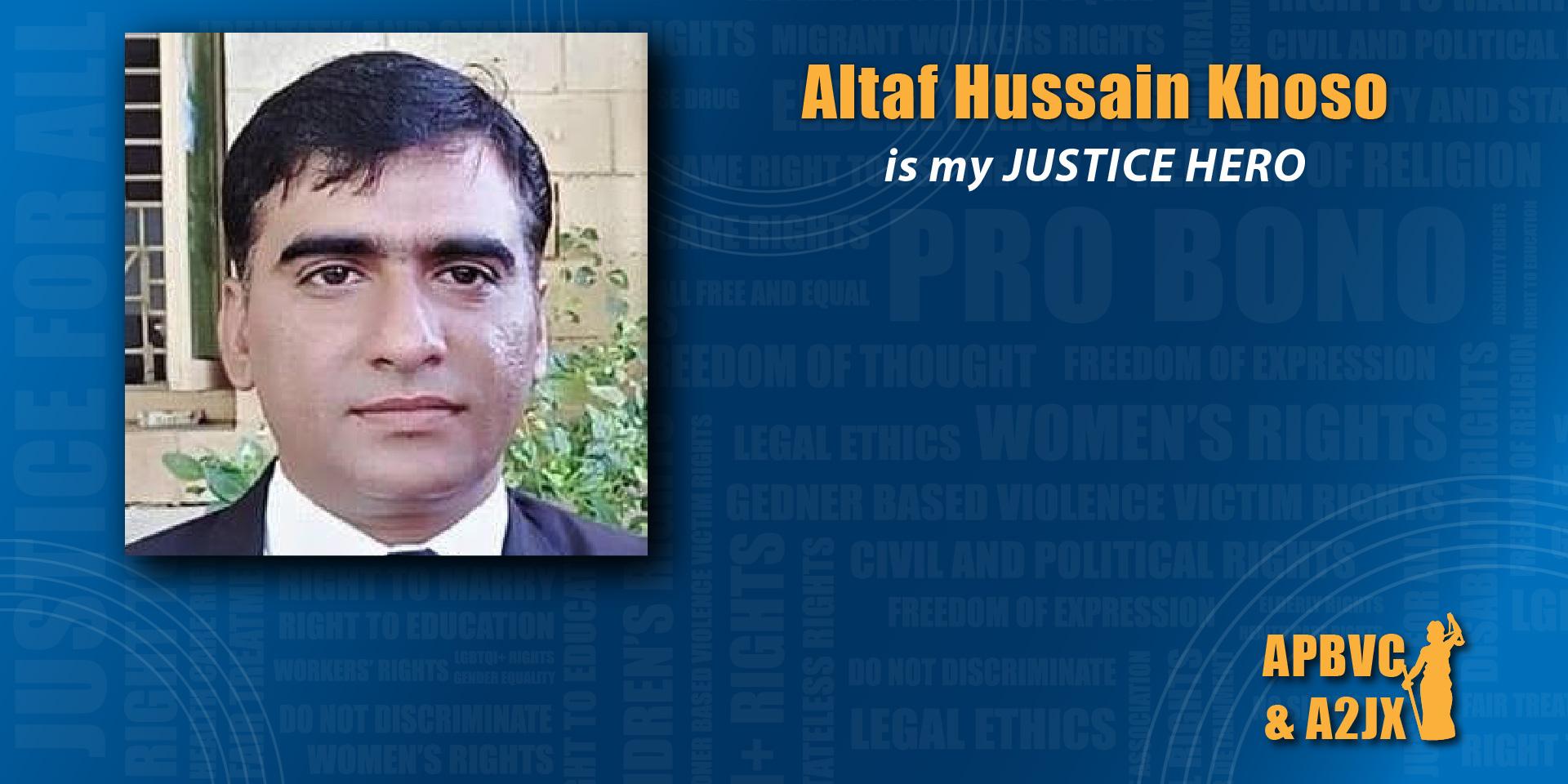 Altaf Hussain Khoso