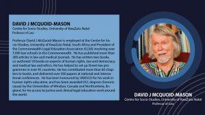 David J McQuoid-Mason