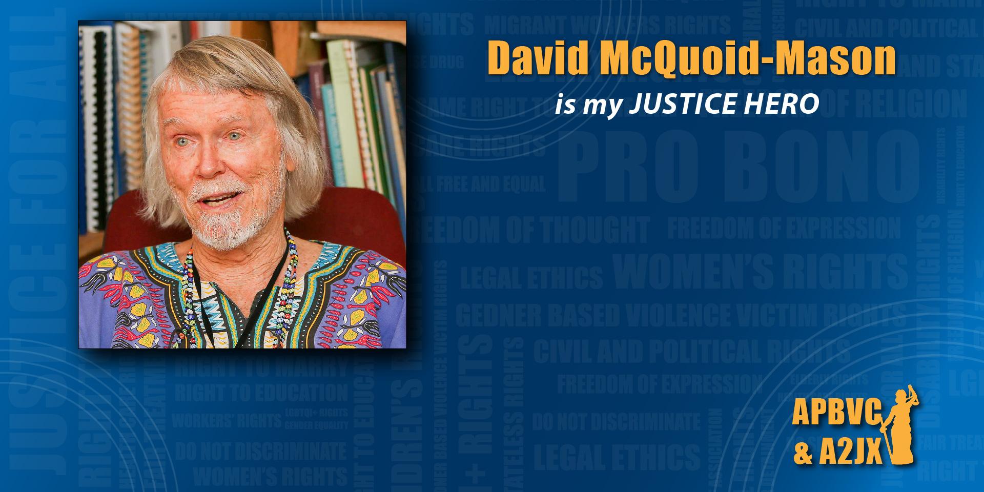 David McQuoid Mason