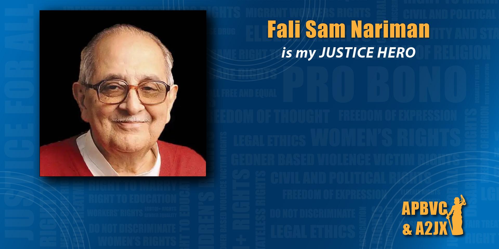 Fali Sam Nariman
