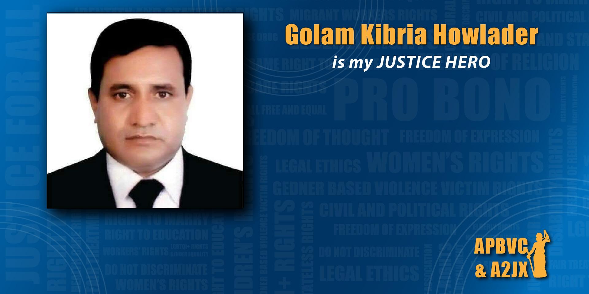 Golam Kibria Howlader