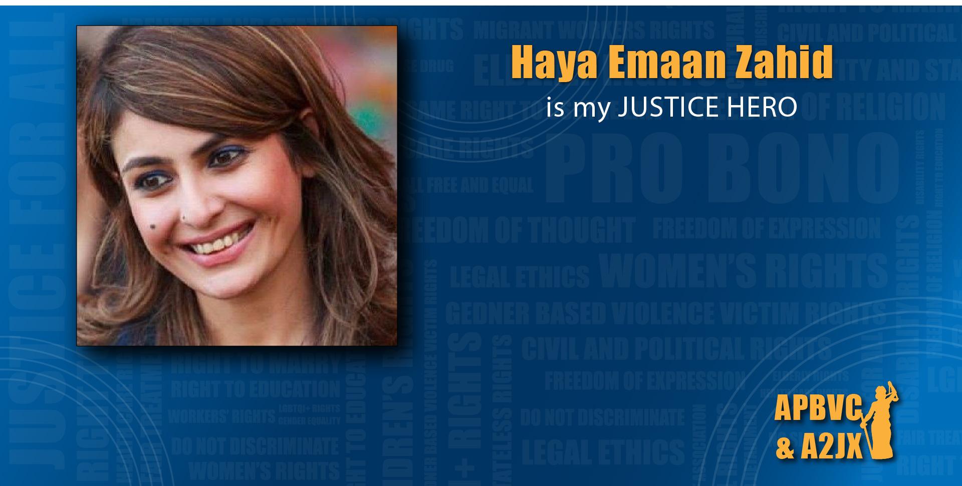 Haya Emaan Zahid