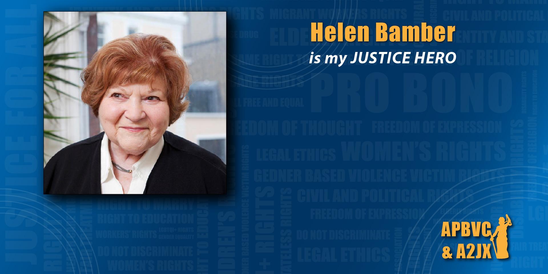 Helen Bamber