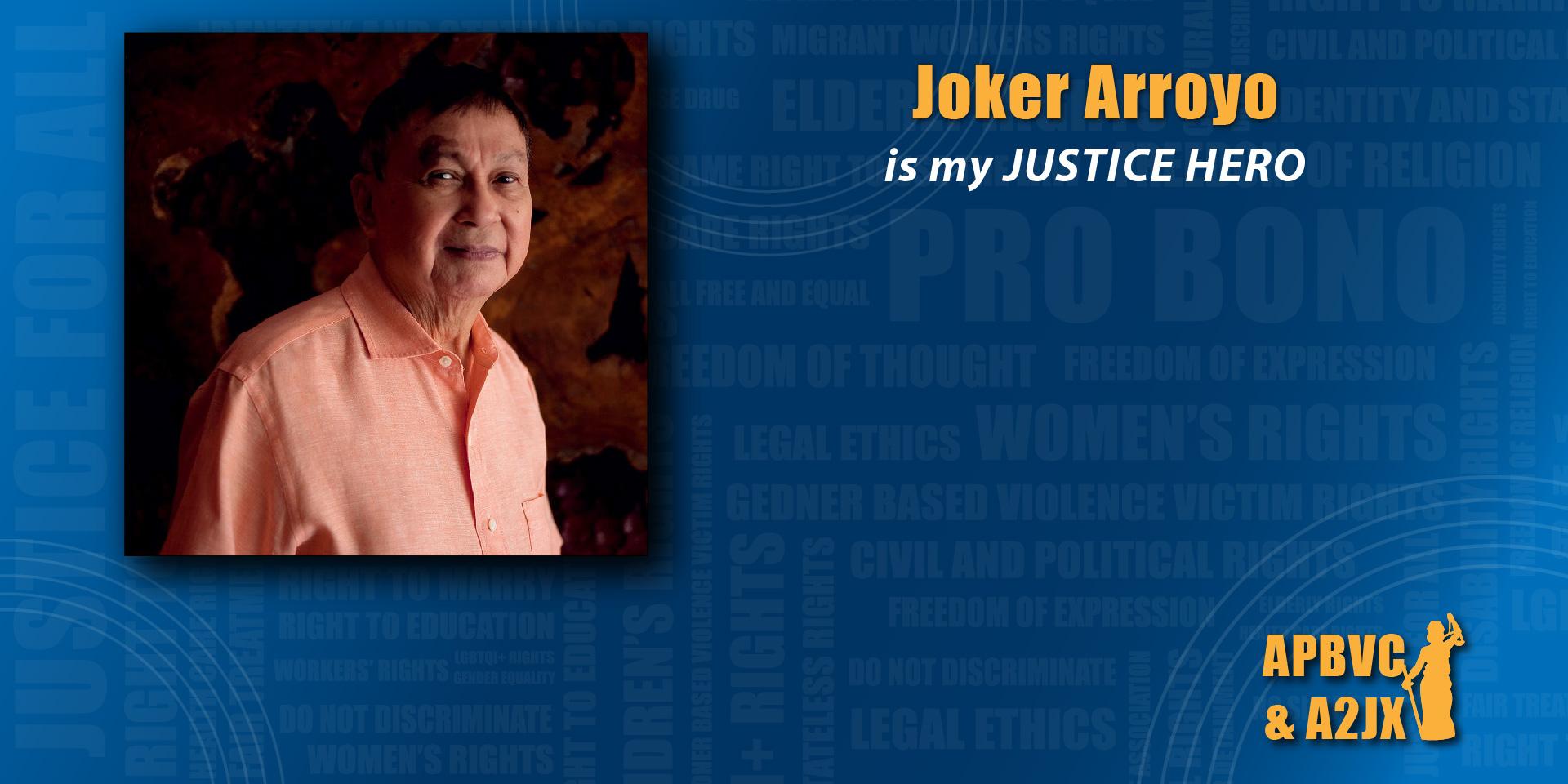 Joker Arroyo