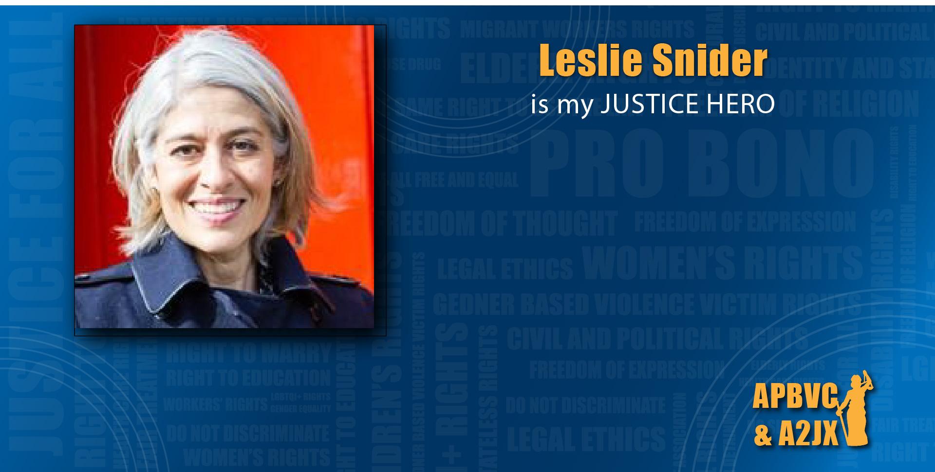 Leslie Snider