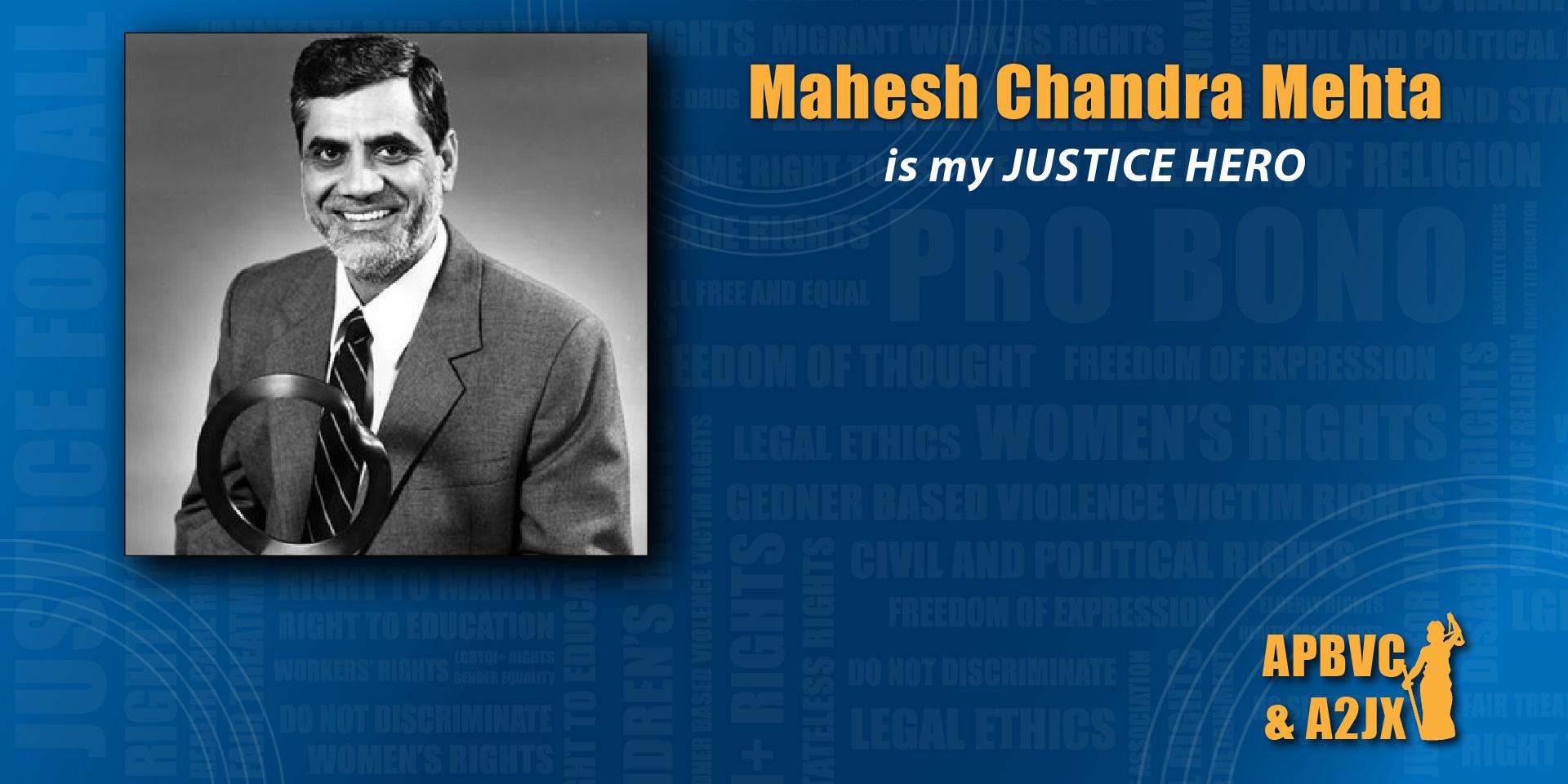 Mahesh Chandra Mehta