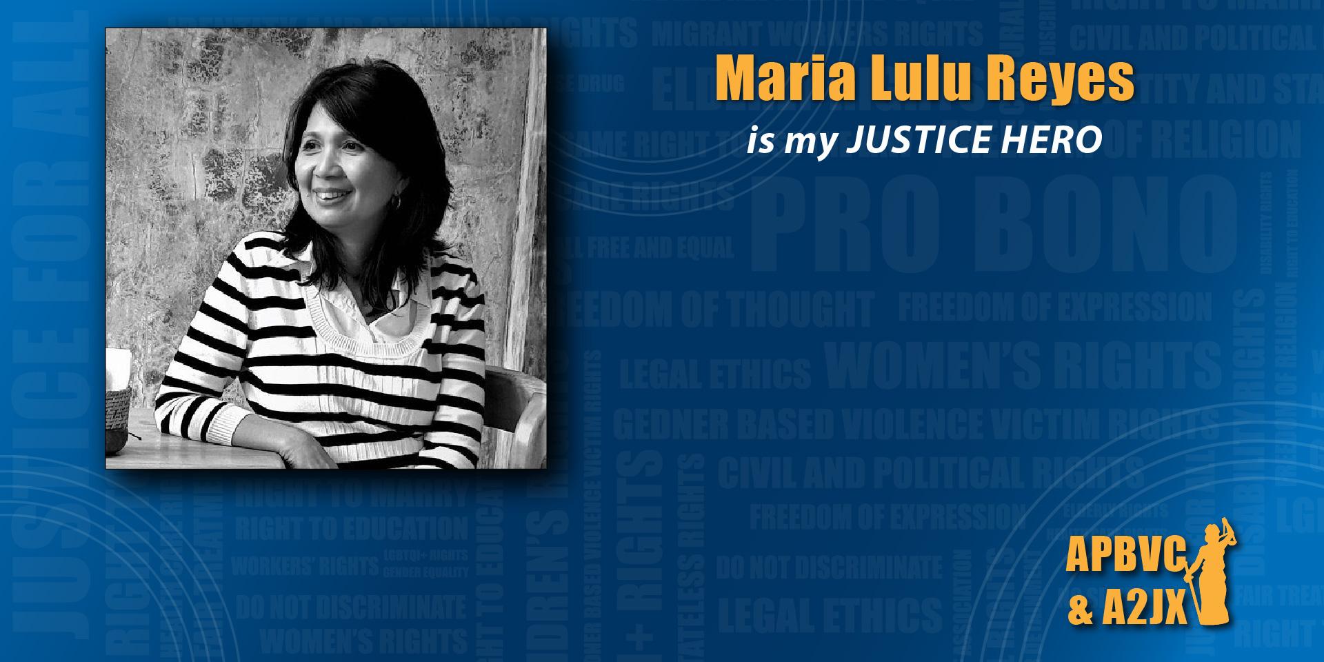 Maria Lulu Reyes