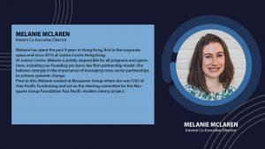 Melanie McLaren