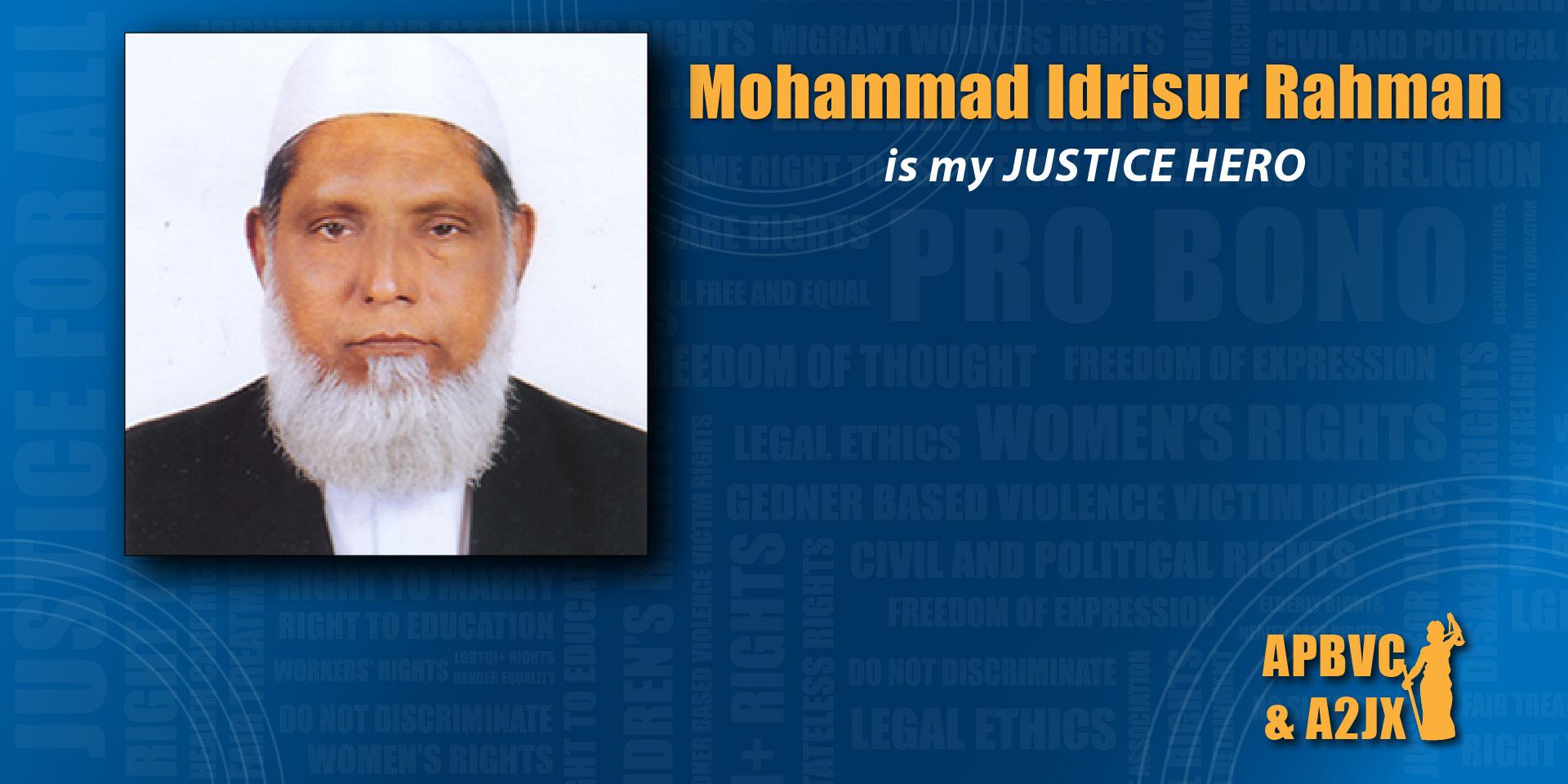 Mohammad Idrisur Rahman