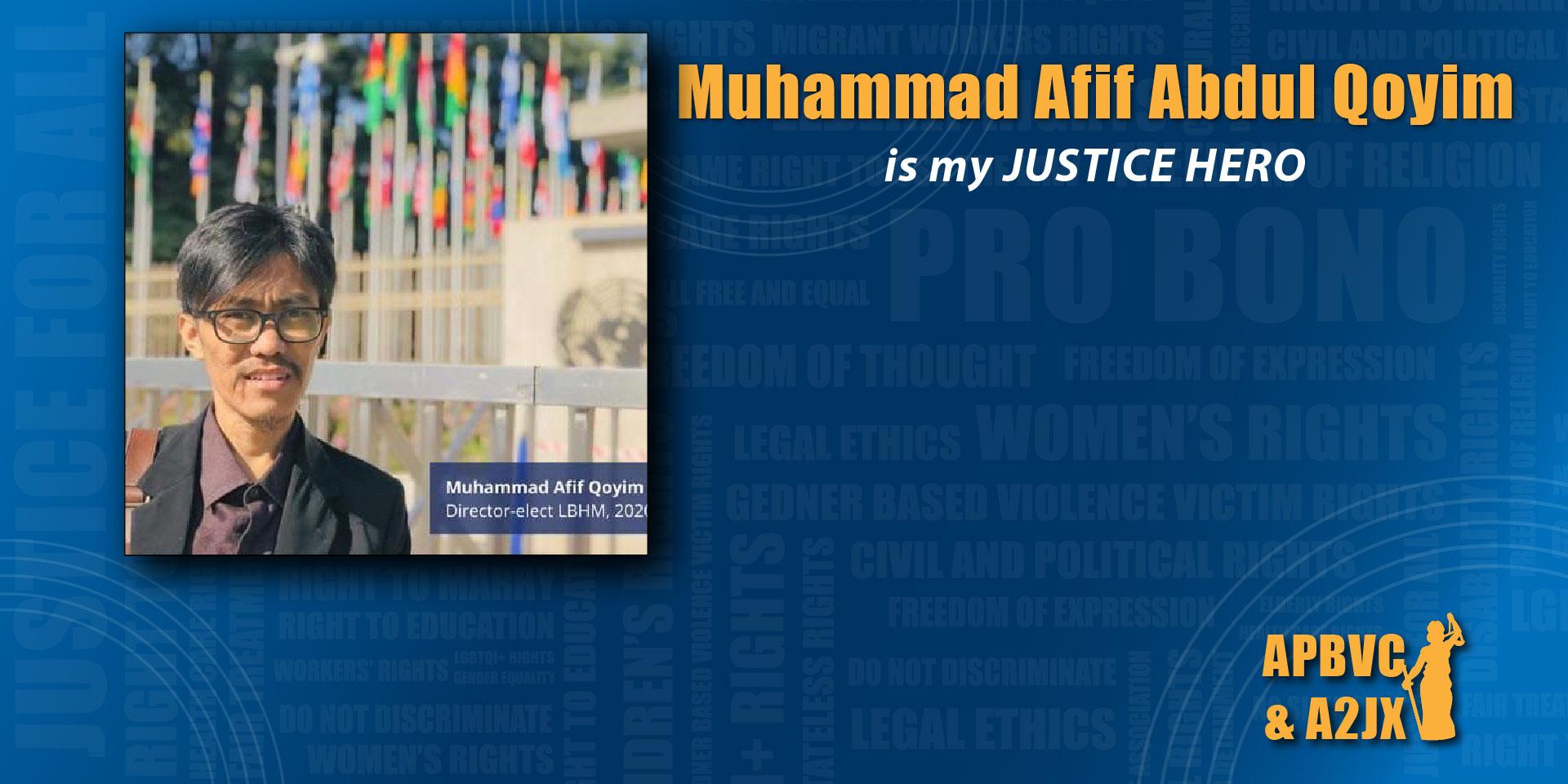 Muhammad Afif AbdulQoyim