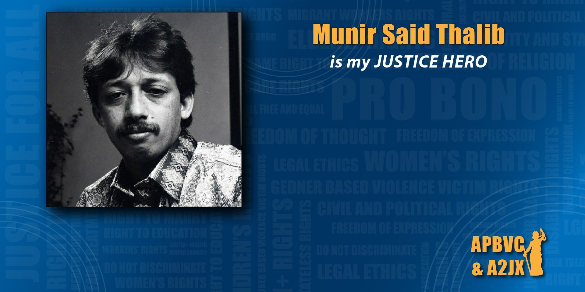 Munir Said Thalib