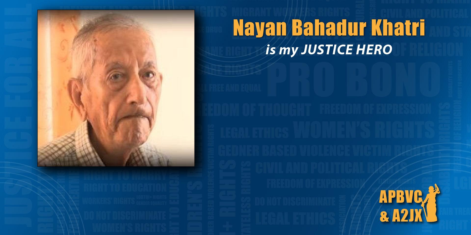 Nayan Bahadur Khatri