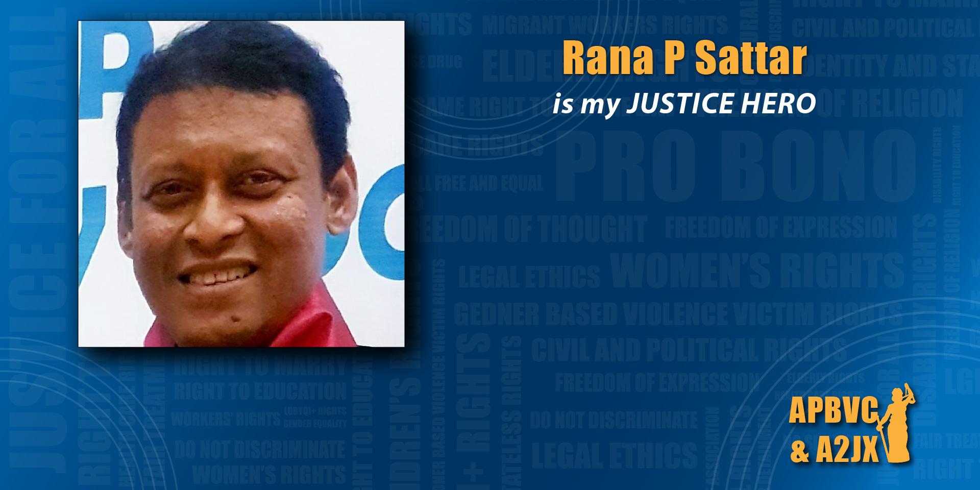 Rana P Sattar
