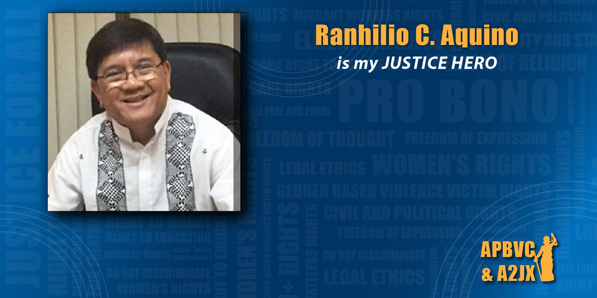 Ranhilio C. Aquino