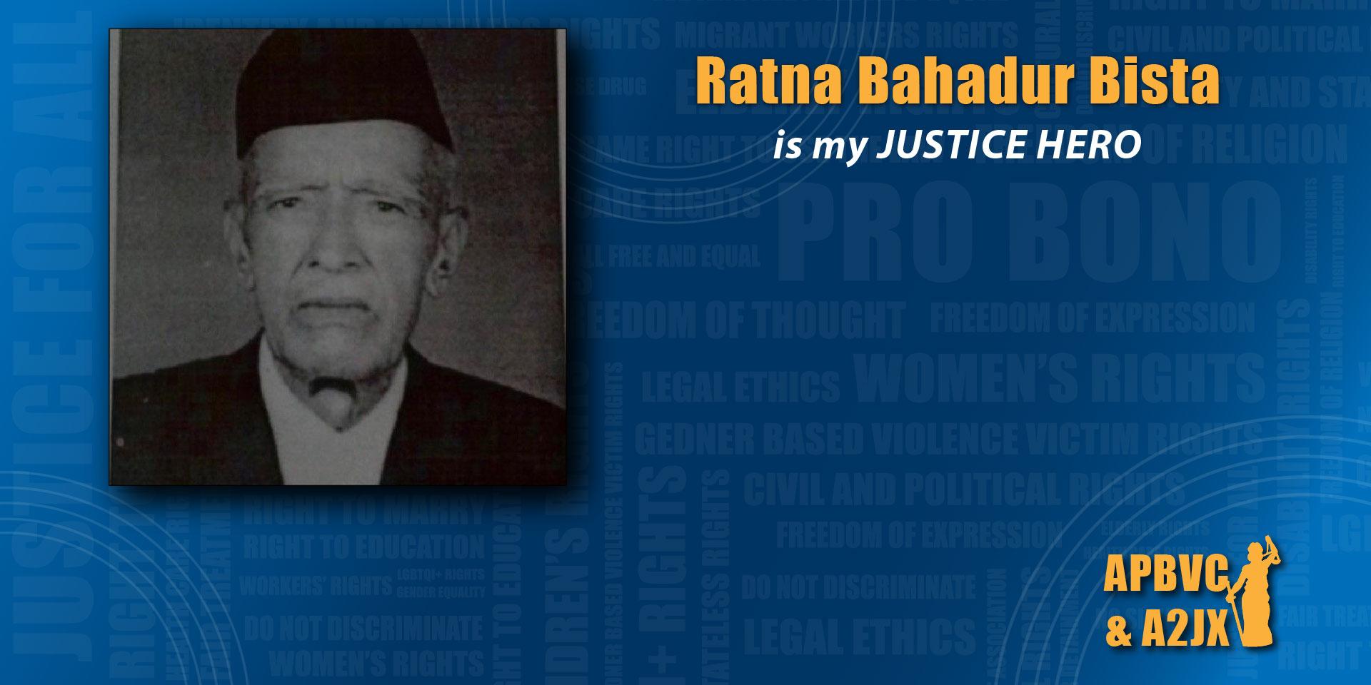 Ratna Bahadur Bista