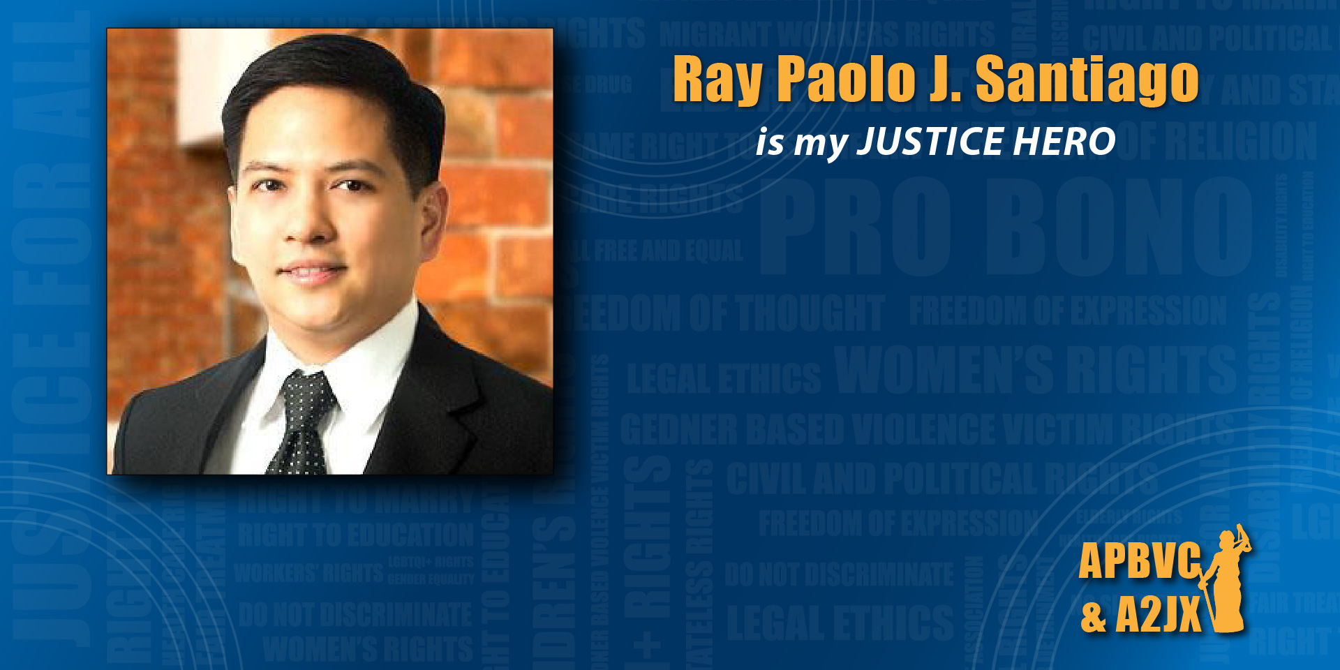 Ray Paolo J. Santiago