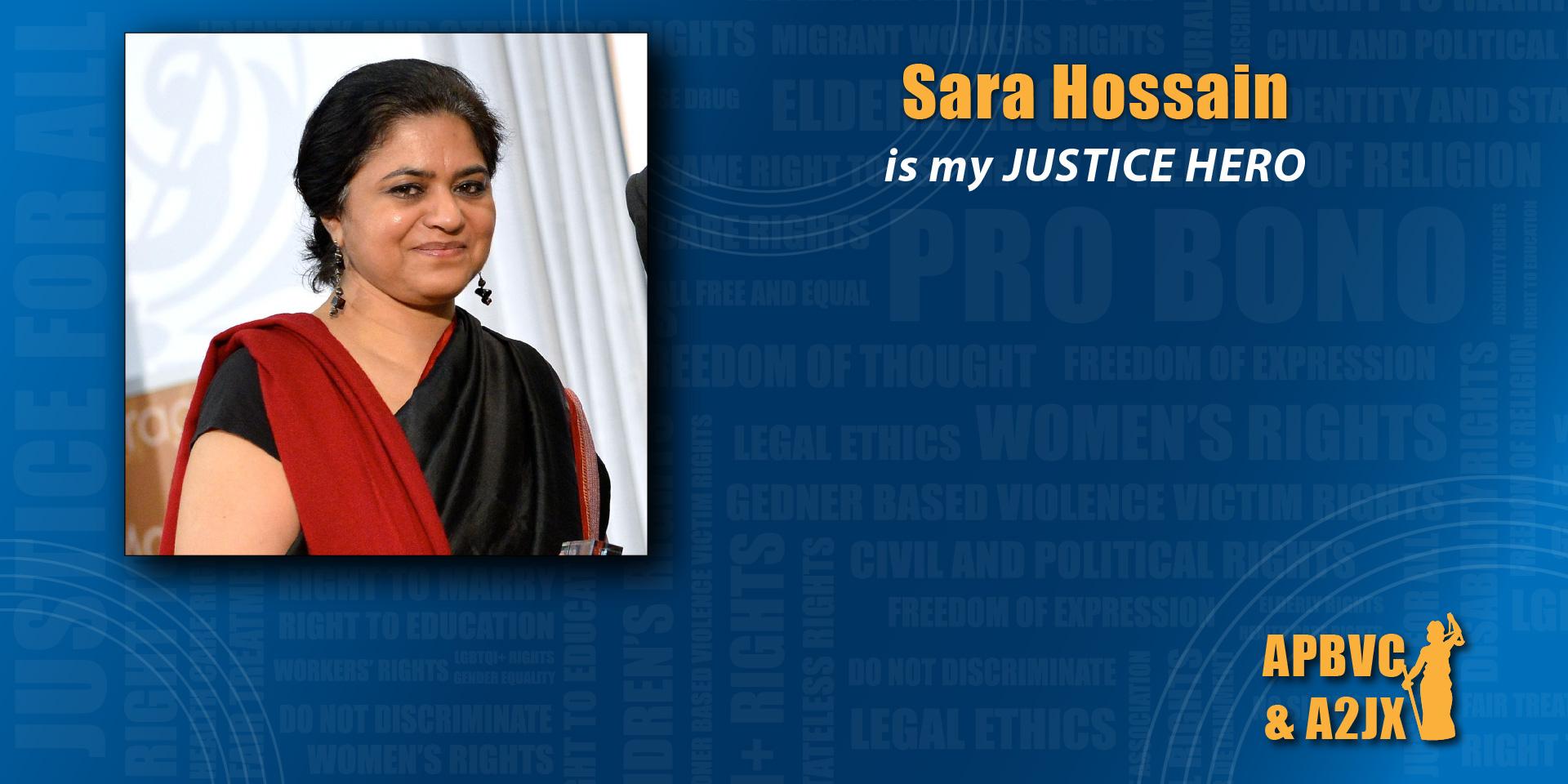 Sara Hossain