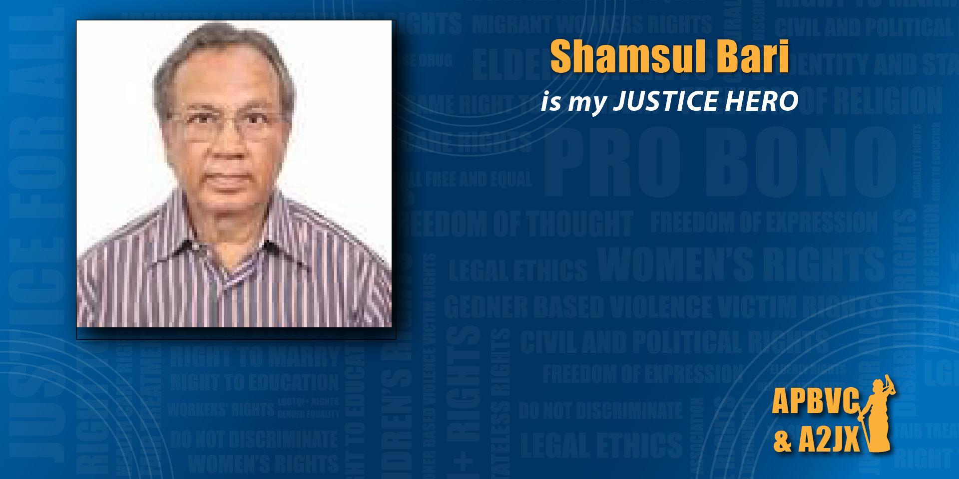 Shamsul Bari