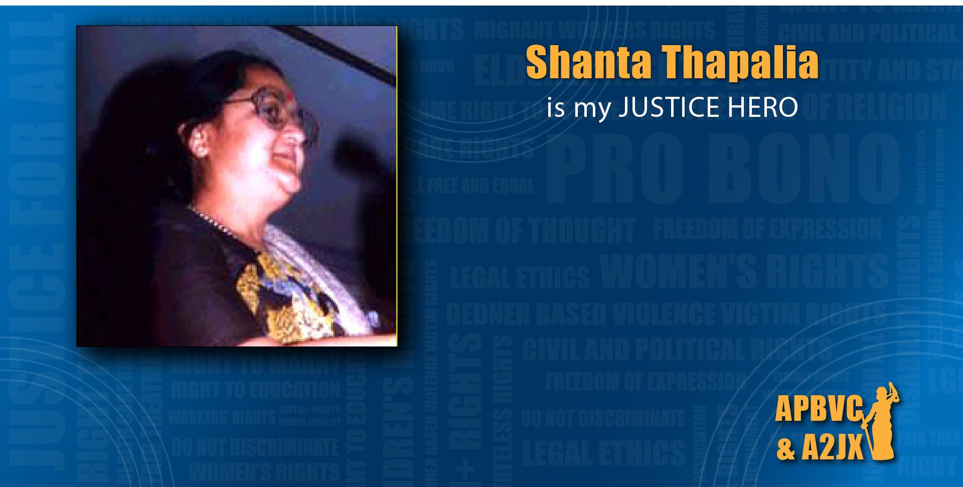 Shanta Thapalia