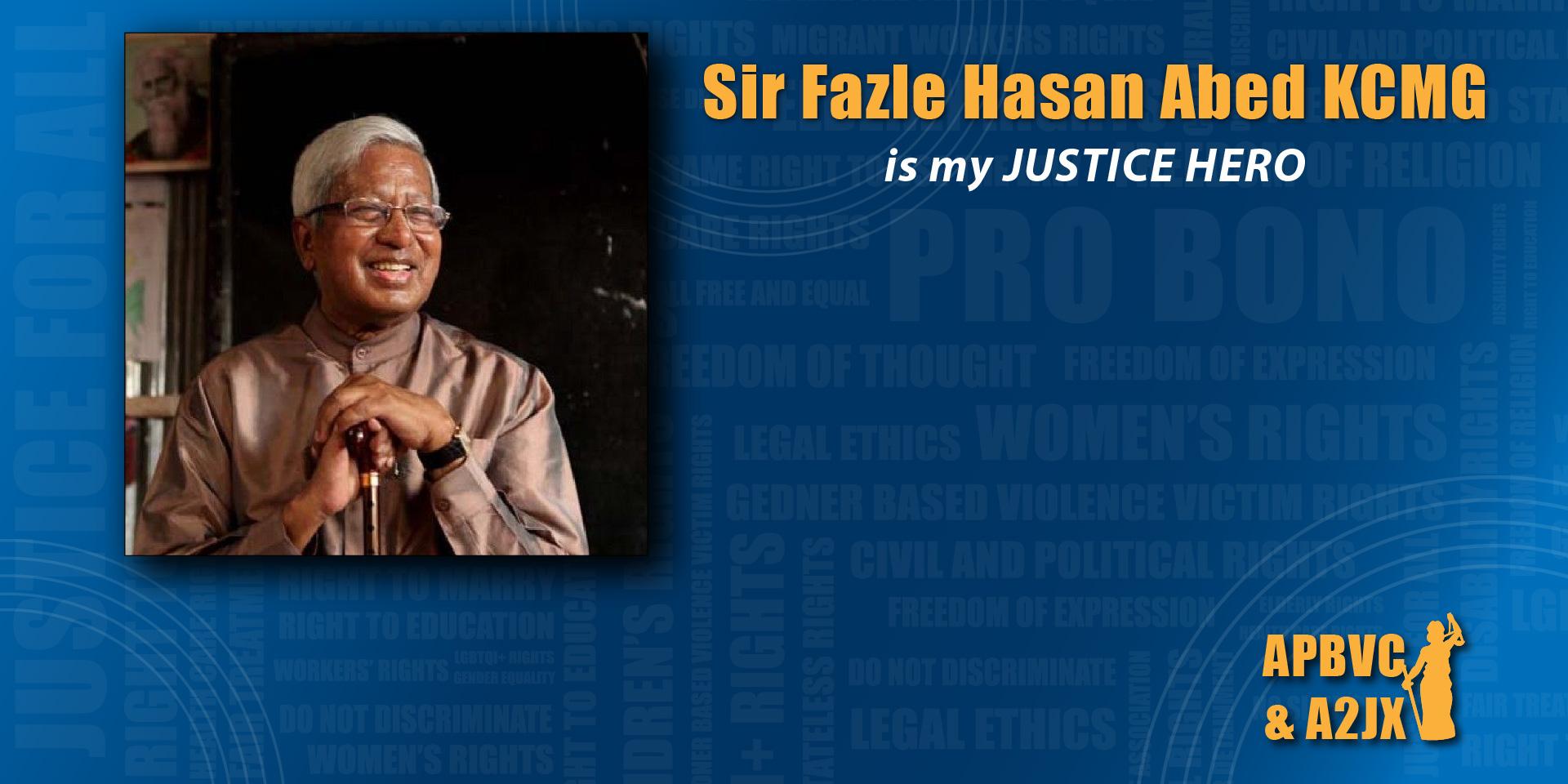 Sir Fazle Hasan Abed KCMG