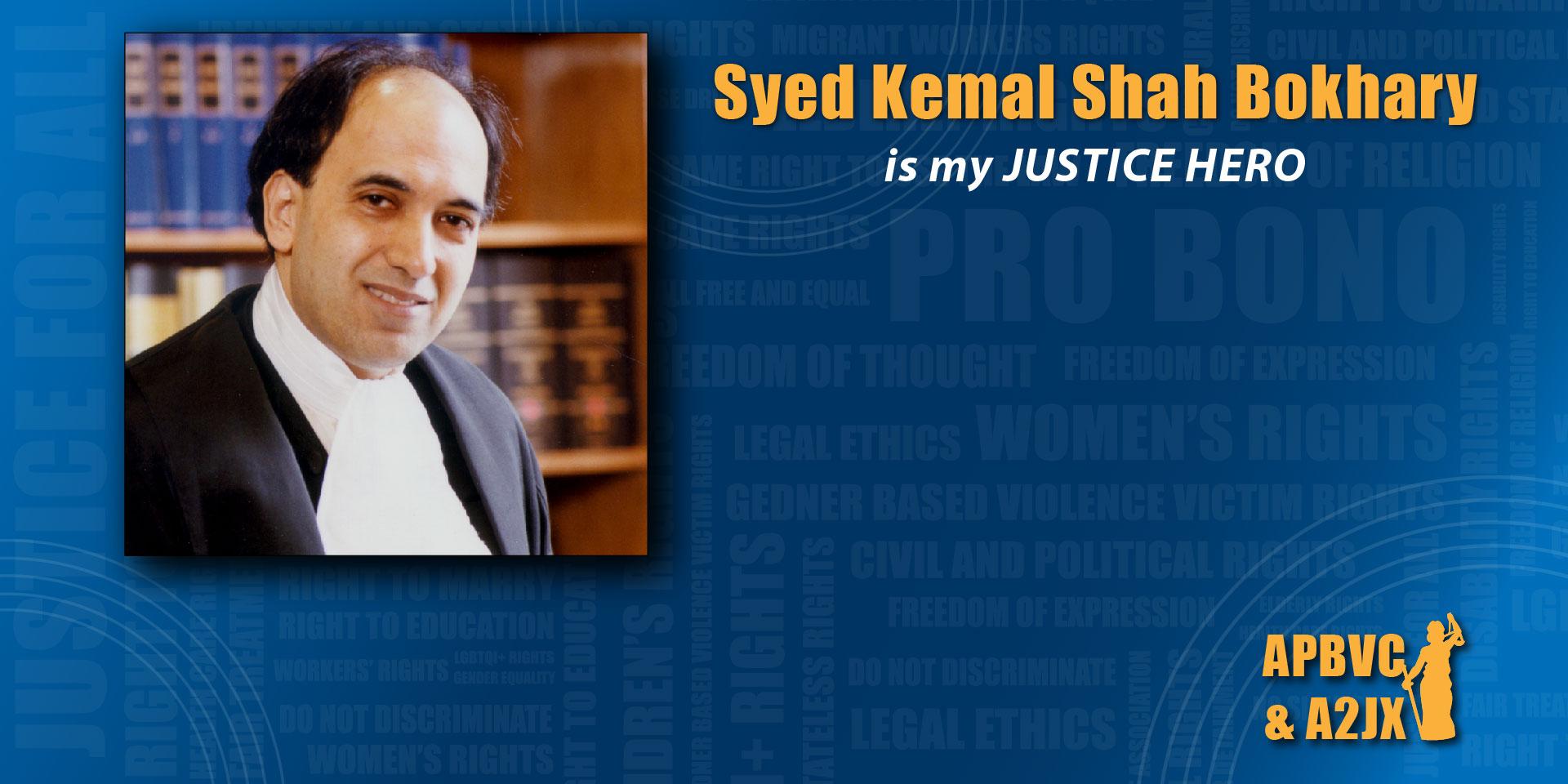Syed Kemal Shah Bokhary