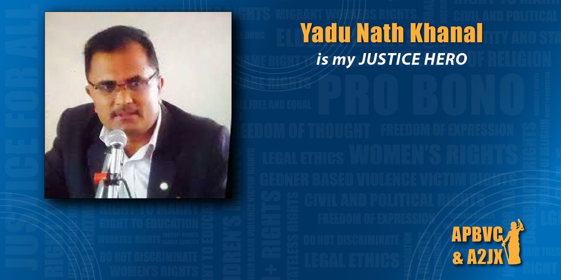 Yadu Nath Khanal
