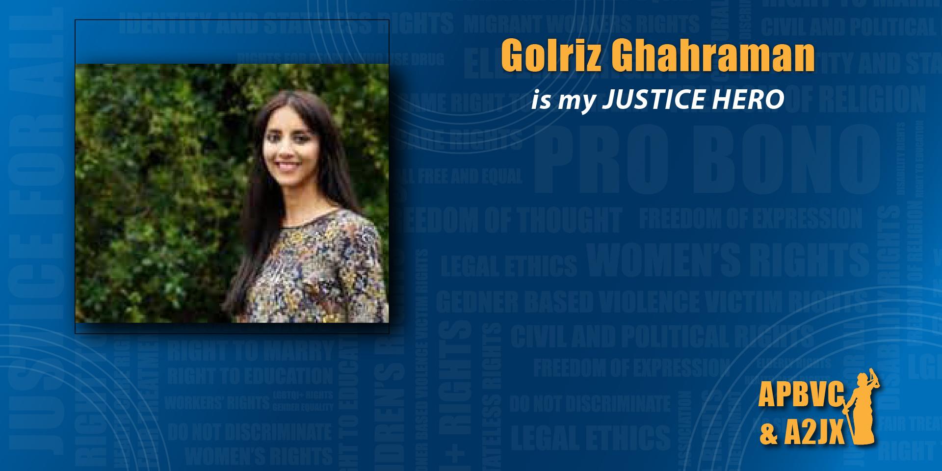 Golriz Ghahraman