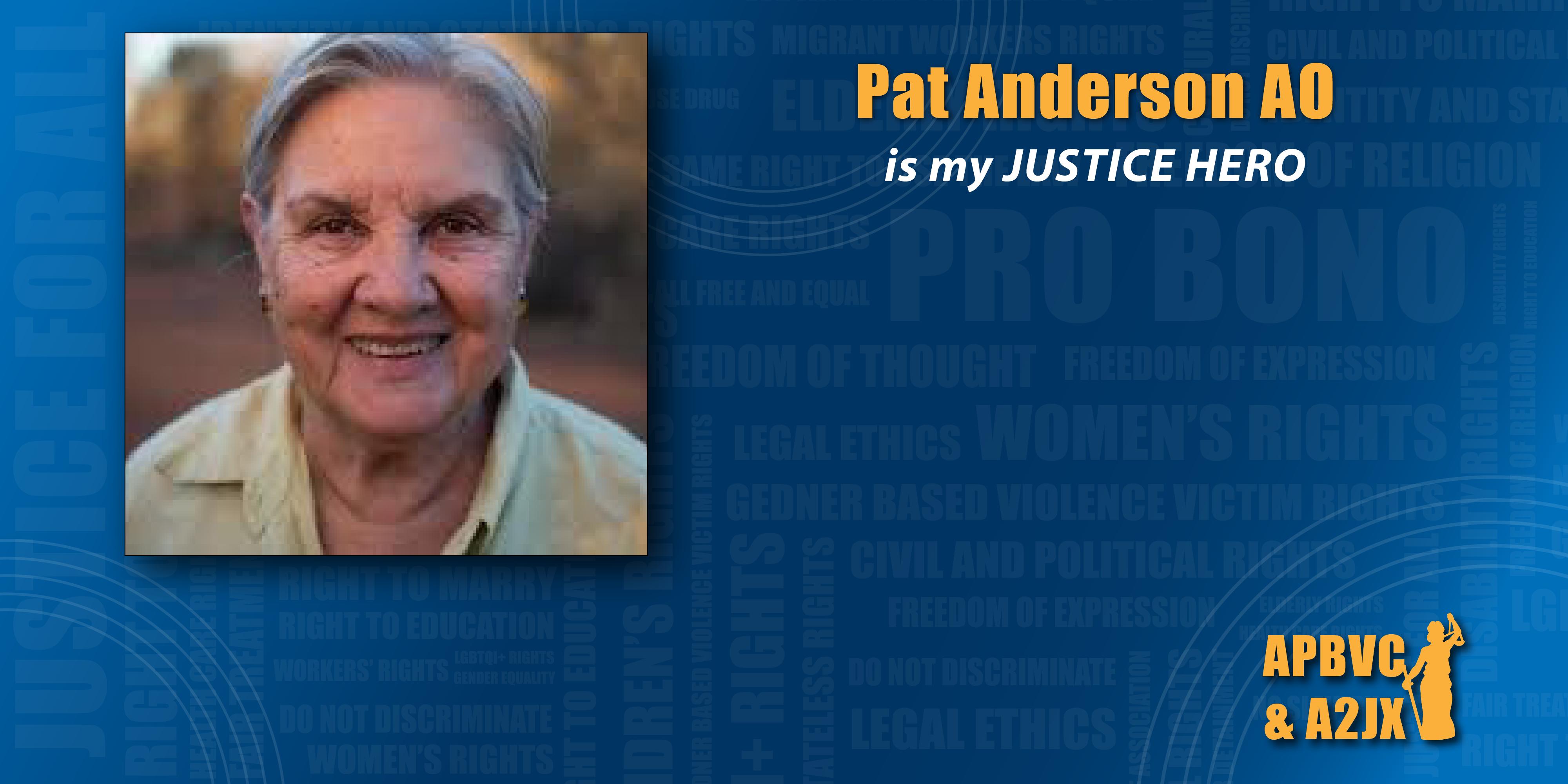 Pat Anderson AO